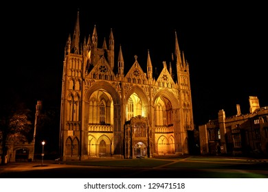 Peterborough Cathedral, properly the Cathedral Church of St Peter, St Paul and St Andrew, also known as Saint Peters Cathedral in the United Kingdom.