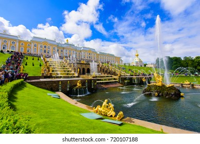 Peterhof Palace at St.Petersburg