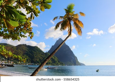 petit piton, st. lucia, caribbean