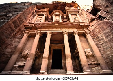 Petra, Al-Khazneh, Jordan