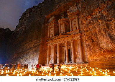 Petra by candle light, runs 3 nights a week, Monday, Wednesday and Thursday