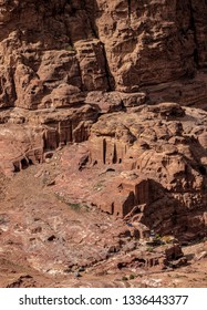 Petra, elevated view, Ma'an Governorate, Jordan
