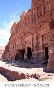 Petra in Jordan, Nabatean capital