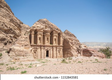 Petra, Jordan: Petra originally known to its inhabitants as Raqmu, is a historical and archaeological city in southern Jordan.