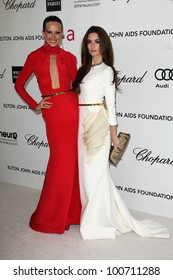 Petra Nemcova, Paz Vega at the 20th Annual Elton John AIDS Foundation Academy Awards Viewing Party, West Hollywood Park, West Hollywood, CA 02-26-12