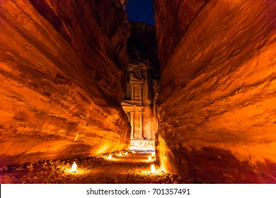 Petra at night-Jordan