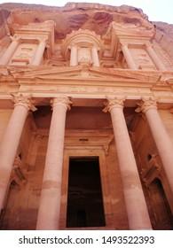 Petra ruins El Khazneh (Jordan)