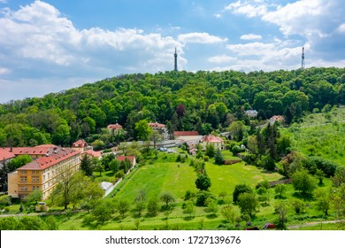 Petrin hill with lookout tower, Prague, Czech Republic