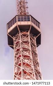 Petrin lookout tower Petrinska rozhledna in Prague