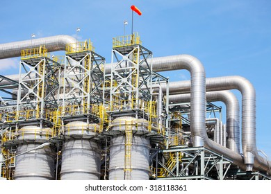 Petrochemical Plant in Industrial Zone