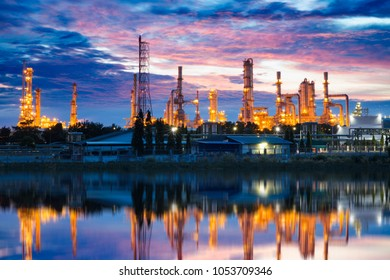 Petrochemical plant (Oil refinery) industry