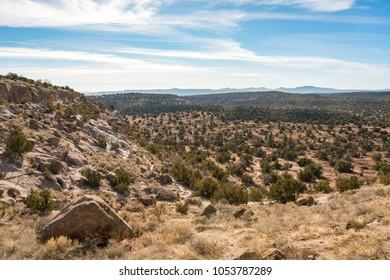 Petroglyphs at Tsankawi Trail, Bandelier National Monument, New Mexico