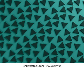 petrol green triangular textured background
