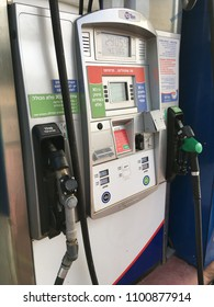 Petrol station in Israel. Israel,Netanya, May 2018