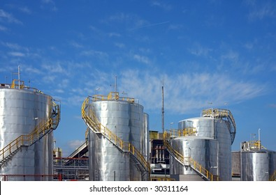 petrol-chemical factory