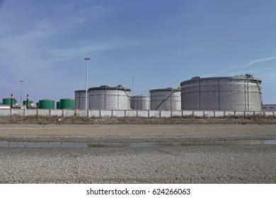 Petroleum chemical plant