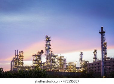 Petroleum industry and Oil refinery