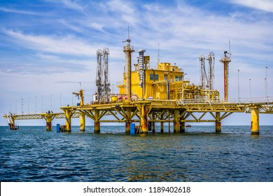 The Petroleum Loading Station in Thai Gulf