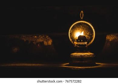 petroleum oil lamp