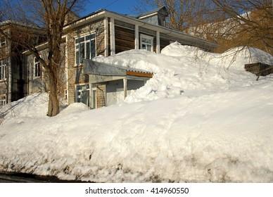 Petropavlovsk - Kamchatsky - a more lot of snow .