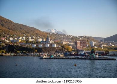 Petropavlovsk-Kamchatsky in Russia