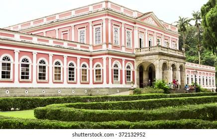 PETROPOLIS, RIO DE JANEIRO / BRAZIL: January 29, 2016 - Imperial Museum of Petropolis - historical and cultural - open to the public