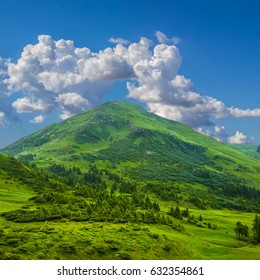 petros mount scene, Carpathians Ukraine