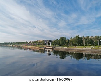 Petrozavodsk. Lake Onega Embankment
