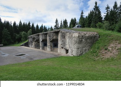 Pevnost Na Mytine - stronghold from 2nd World War in Orlicke hory mountains in Czech Republic