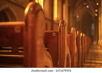 Pews in St Patrick's Cathedral