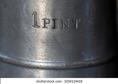pewter pint stamp