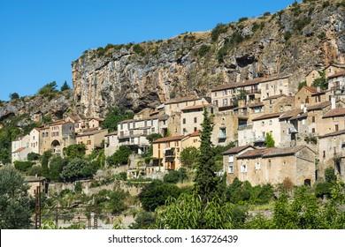 Peyre, old village near Millau (Aveyron, Midi-Pyrenees, France)