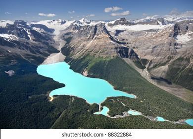 Peyto Lake, Banff National Park, Alberta, Canada.