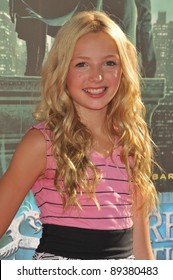 "Peyton List at a benefit screening for her new movie ""The Sorcerer's Apprentice"" at Walt Disney Studios. July 12, 2010  Burbank, CA Picture: Paul Smith / Featureflash"