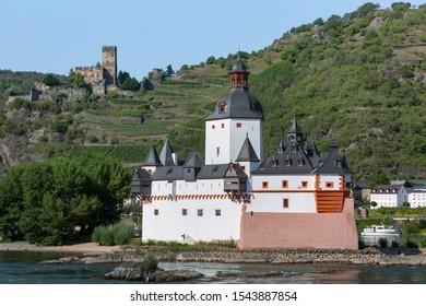 Pfalzgrafenstein Castle on the Rhine River