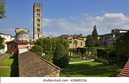 Pfanner Palace and gardens in Lucca