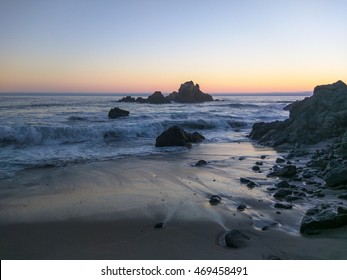 Pfeiffer Beach is located in the heart of Big Sur and is one of the favorite beaches in all of Big Sur.