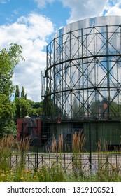 Pforzheim, historic Gasometer