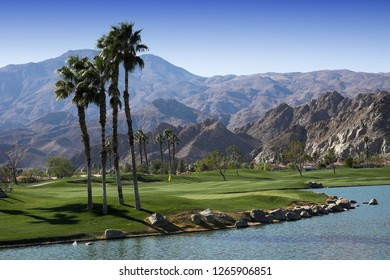 Pga West golf course in La Quinta, Palm Springs, California, usa