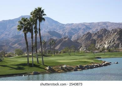 PGA West golf course, Palm Springs, CA