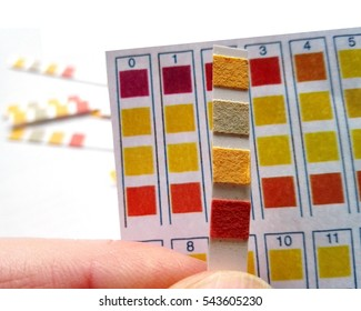 PH value measurement - Rods for measuring the acid content, pH value
