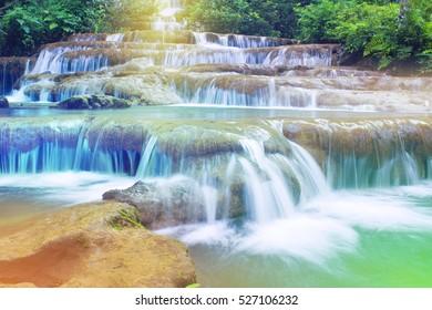 Pha Charoen Waterfall at National Park, Mae Sot, Tak, Thailand