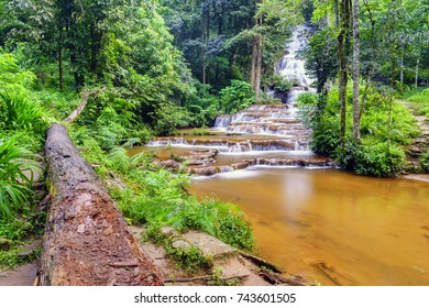 Pha Charoen waterfall national park, Mae Sot,Tak province, Thailand