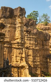 Pha Chau at Mae Wong national park in Thai, Thailand.