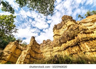 Pha Chor canyon in Maewang National Park, Chiang Mai Thailand