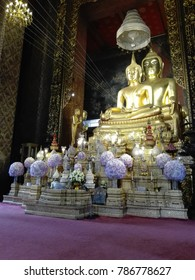 Pha Srisassada, the buddha image in Wat Bawornniwaswihan. The important temple for the Buddhist in Bangkok. And the favorite place of the tourist.
