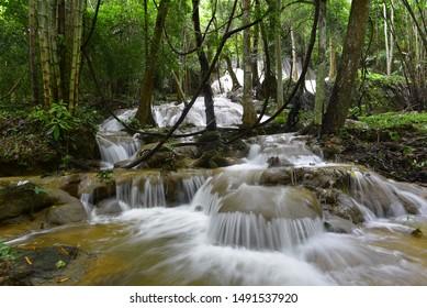 Pha Tad Waterfall, Srinagarind National Park, Kanchanaburi Province