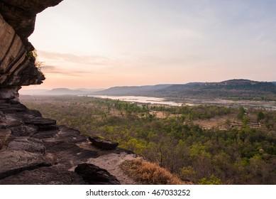 Pha Taem Cliff National Park, Ubon Ratchathani, Thailand