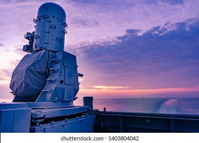 Phalanx, The Close-in weapon system or CIWS is the poppular weapon for air defence in modern warship around the world.