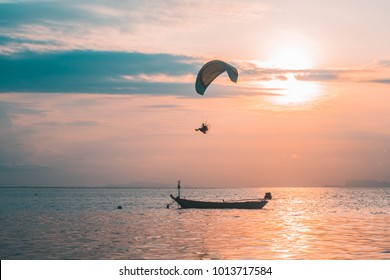 Phangan - Beautiful sunset